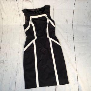 White House Black Market sleeveless dress. Sz 4